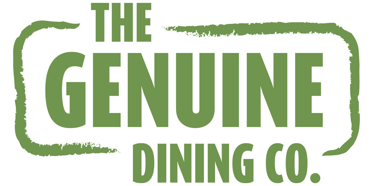 Geunine dining Co Logo